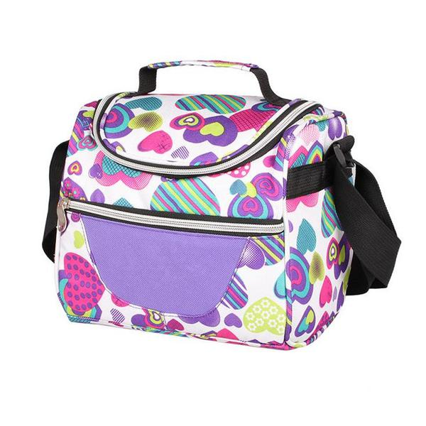 7l picnic bag portable lunch cooler insulated handbag