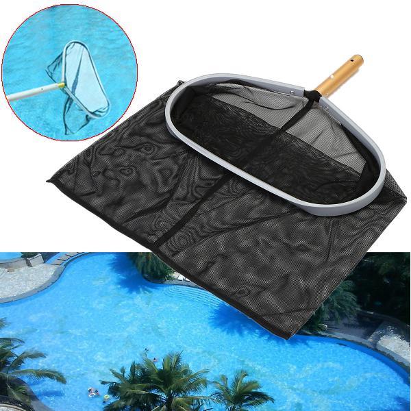 Heavy duty swimming pool skimmer leaf rake mesh net 18inch