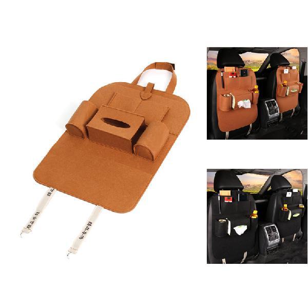 Ipree peach style auto car seat back multi pocket storage