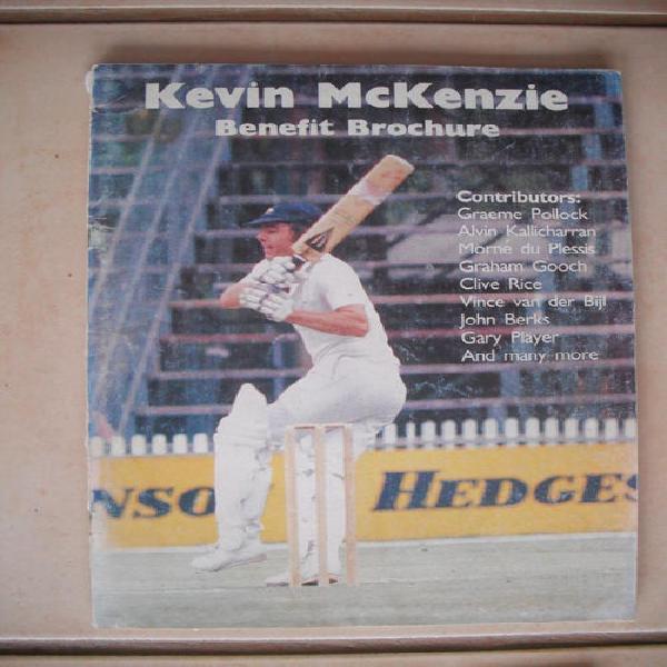 Kevin mckenzie benefit brochure (cricket)