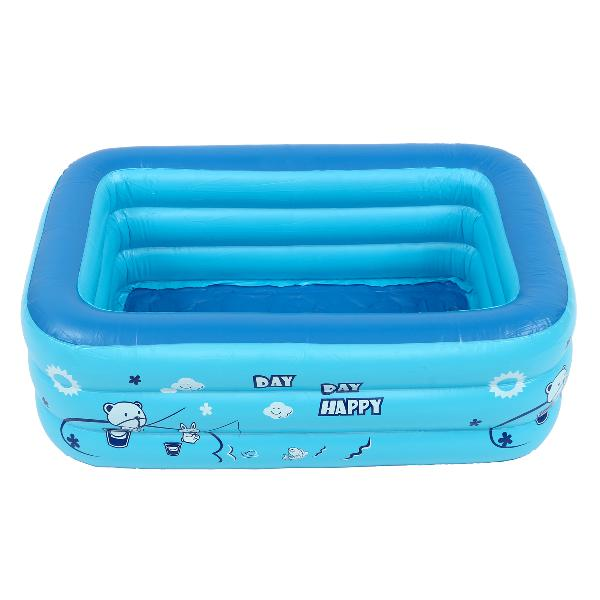 Kids baby children inflatable swimming pool 3 layer pool