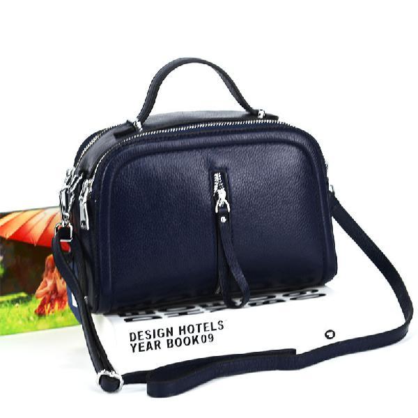 Leather fashion cowskin shoulder bag single shoulder