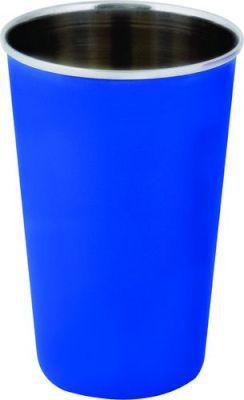 Leisure quip stainless steel tumbler with rolled edge