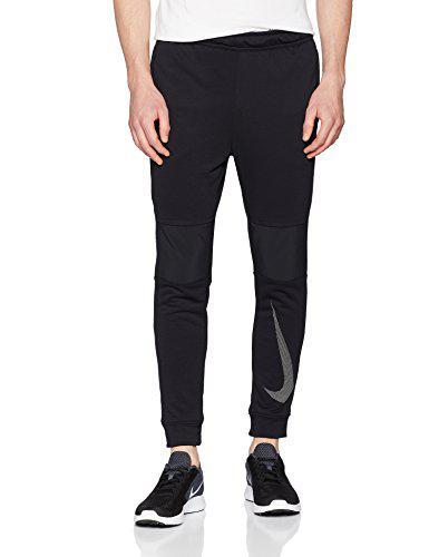 Nike men's dry pants(black/white/white, m)