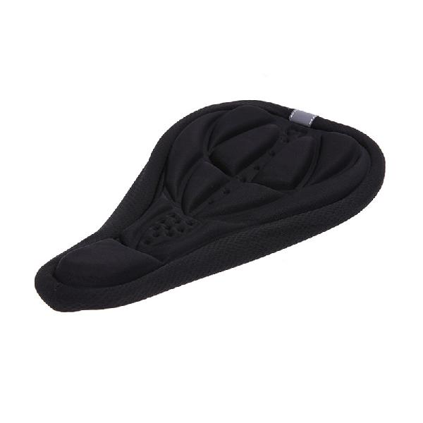 Outerdo bicycle saddle seat cover thickened soft silicone 3d
