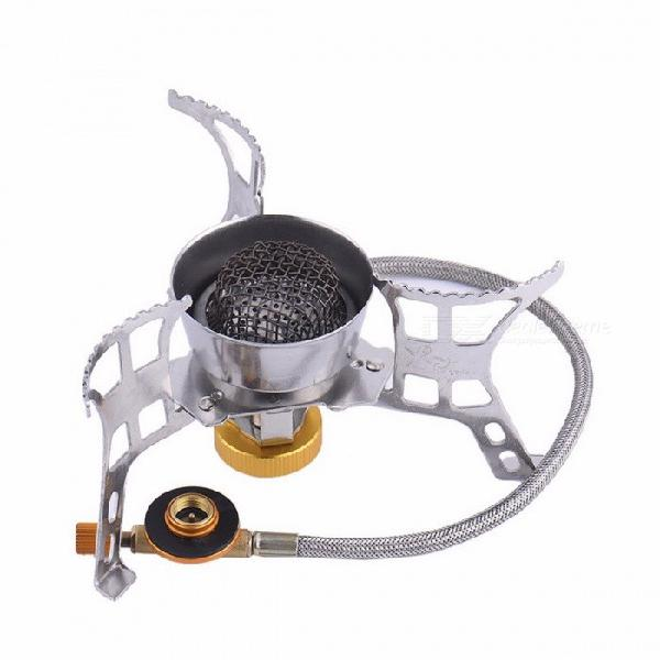 Outdoor camping hiking hose gas stove burner fuel tank gas