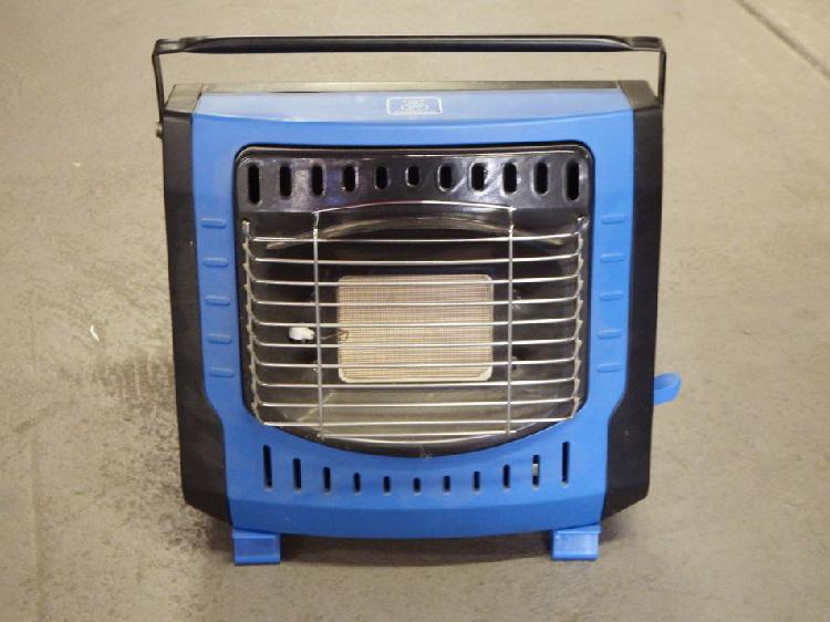 Outdoor camping butane canister heater - gas not included