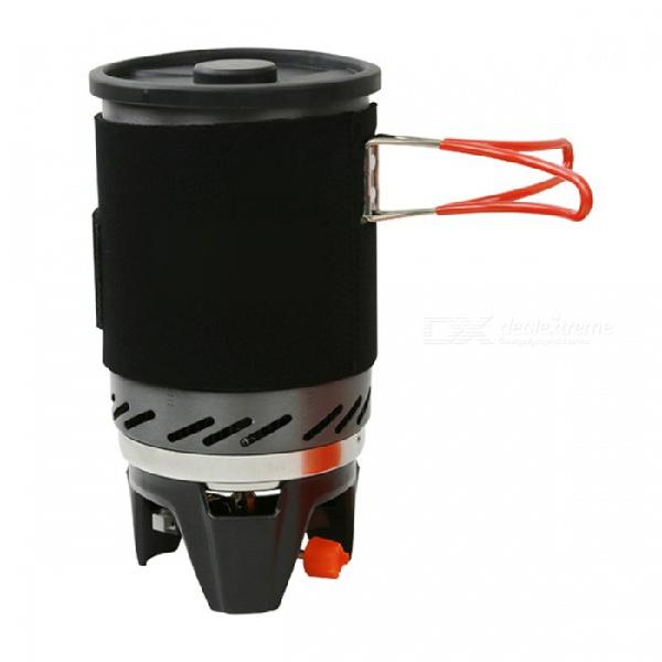 Portable propane gas stove burner, personal cooking system
