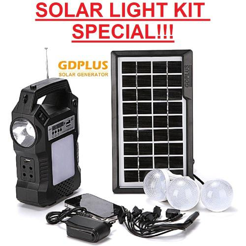 Solar light kit special!!! outdoor solar lighting system - 3