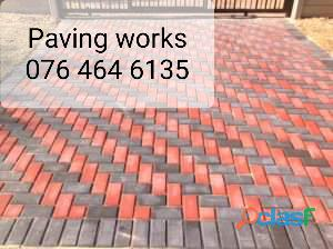 Paving works and 076 464 6135