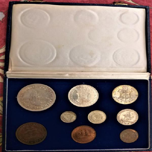 1952 union of south africa coin set