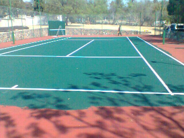 Tennis court,netball court,comb court resurfacing
