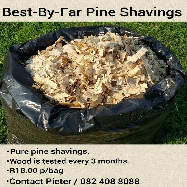 Best-by-far pine shavings
