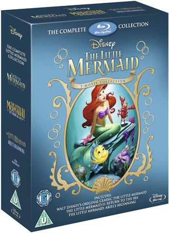 Little mermaid trilogy (blu ray)