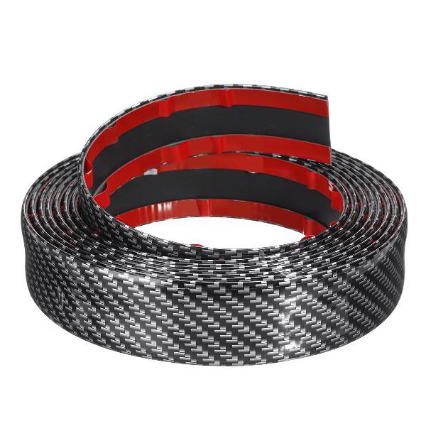 3m universal carbon fiber car door edge ody sill protector