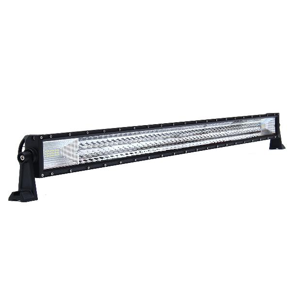 42inch tri-row 594w led work light bars flood spot combo