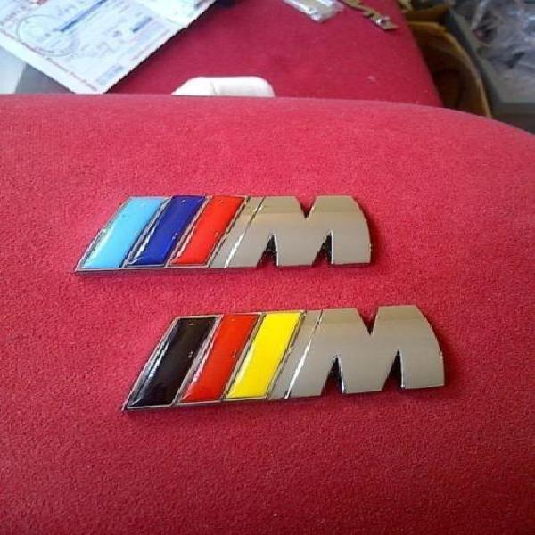 Bmw m sport/m tech 3d metal boot badge, high quality, 2