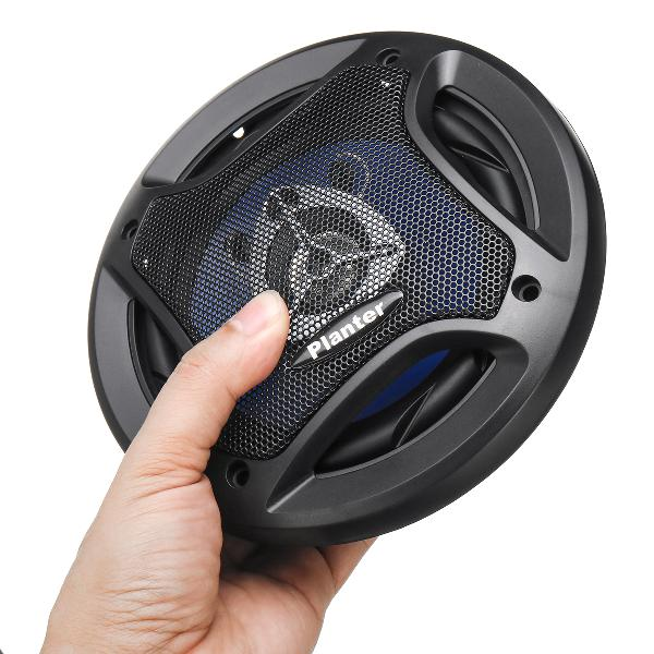 Pl-1648 pair of 6.5 inch 500w car speaker coaxial speaker