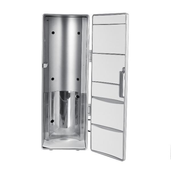 Usb small car refrigerator office computer ice refrigerating
