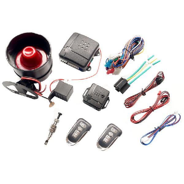 Universal central locking kit & car alarm system with