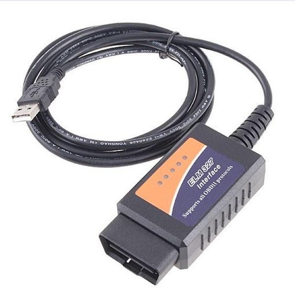 V1.5 elm327 obdii auto diagnostic usb interface code scanner