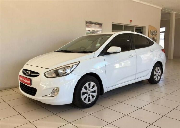 2016 hyundai accent sedan 1.6 fluid auto