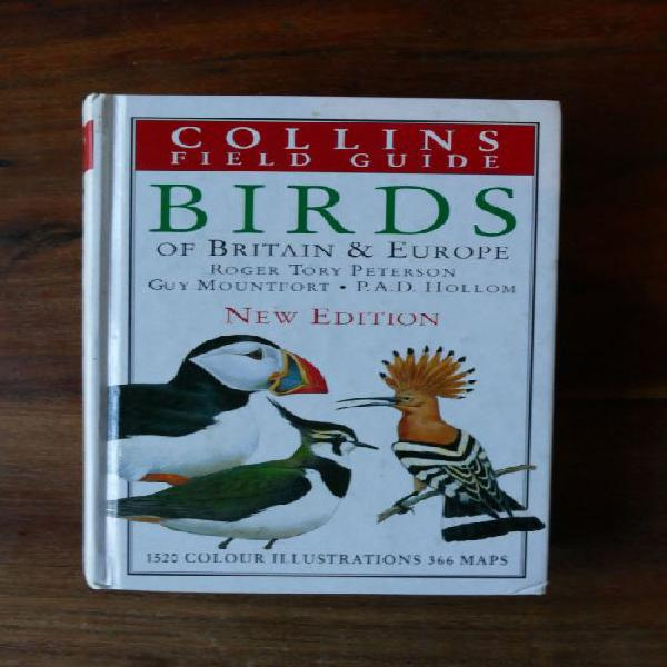 Collins field guide - birds of britain & europe