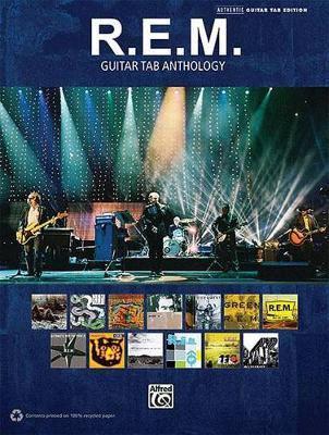 R.e.m. guitar tab anthology (paperback)