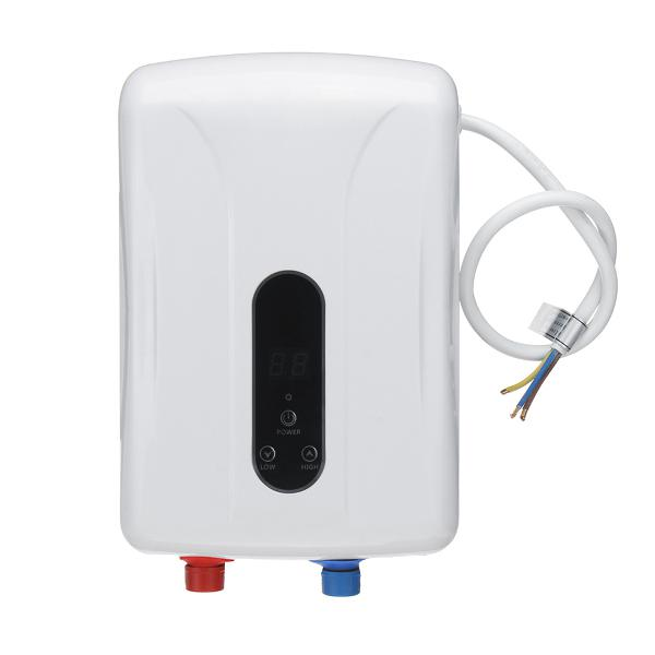 5.5kw tankless instant electric hot water heater boiler