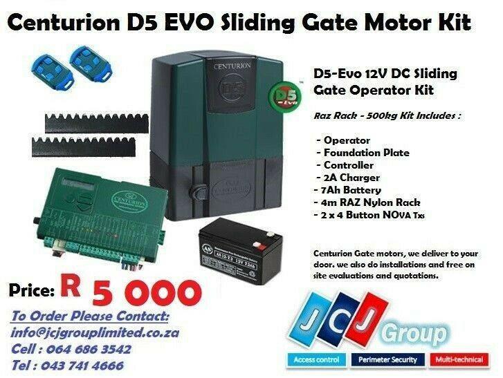 Gate motor centurion d5 evo kit (el)