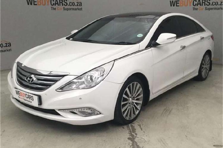 Hyundai sonata 2.4 elite 2013