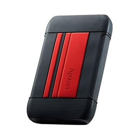 Apacer ac633 2tb usb 3.1 external hard drive - red - apacer