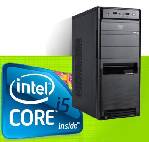Desktop pc -3rd gen demo intel i5 3.1ghz new pc case stock