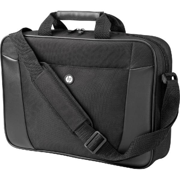 """Hp h2w17aa essential top load case for 15.6"""" laptops (black)"""