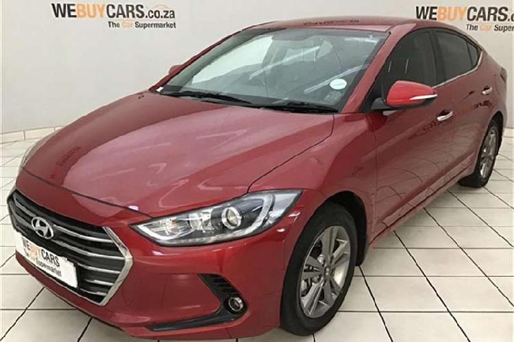 Hyundai elantra 1.6 executive auto 2018