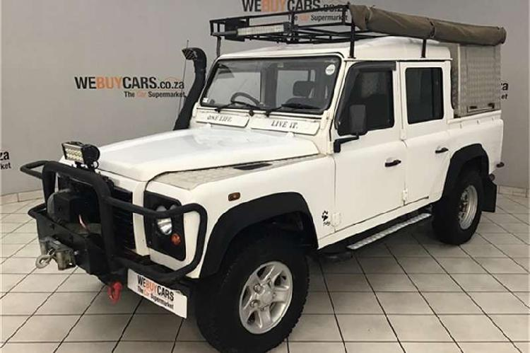 Land rover defender 110 2.5 td5 double cab 2003