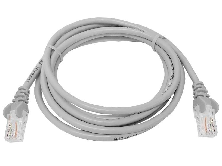 Linkbasic 2 meter utp cat5e patch cable grey