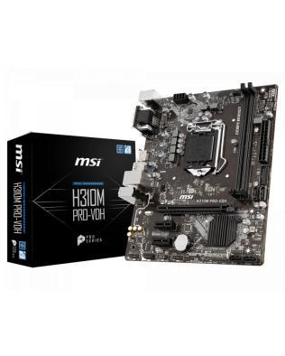 Msi h310m 1151 9th / 8th gen intel® motherboard