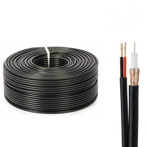 10x BNC Male to BNC Male RG59 75ohm Coaxial Cable For CCTV Surveillance 1.5M US