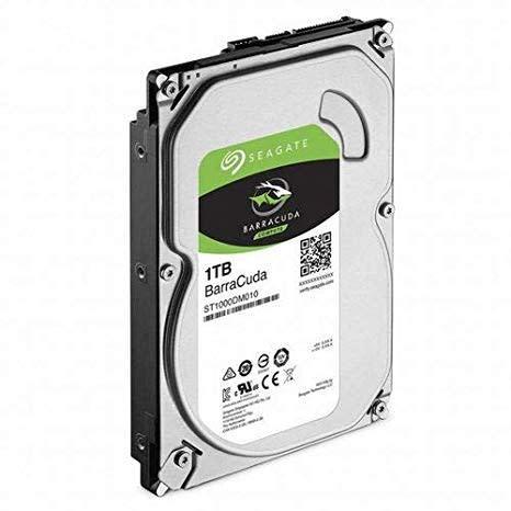 SEAGATE ST1000DM010 BARRACUDA 1TB 7200RPM SATA 6Gb/s 64MB