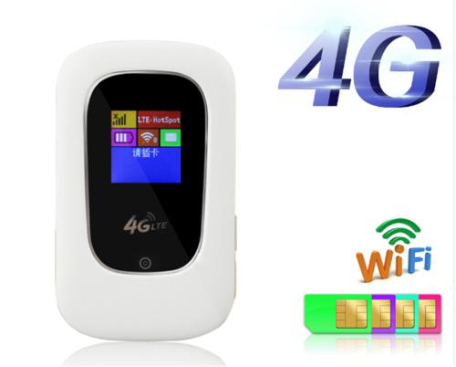 Unlocked 4g 100mbps wifi 4g mobile lte wifi router with sim