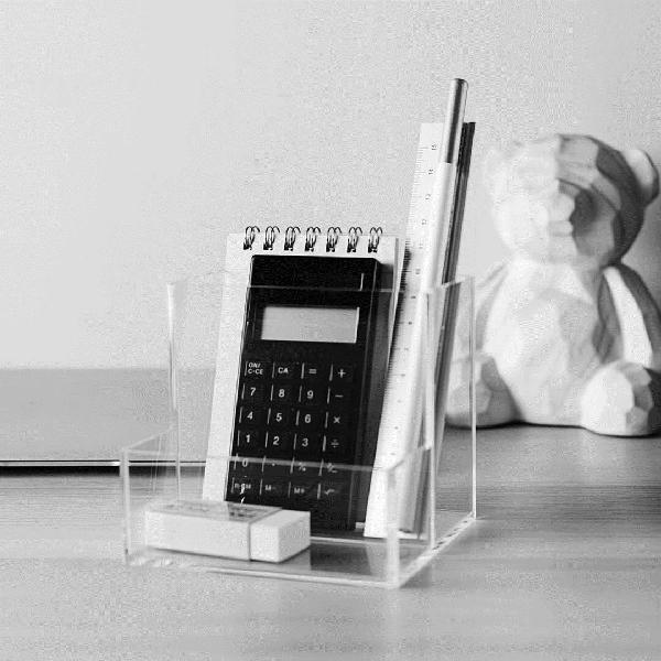 A&maison delicate desktop storage case clear acrylic gadget