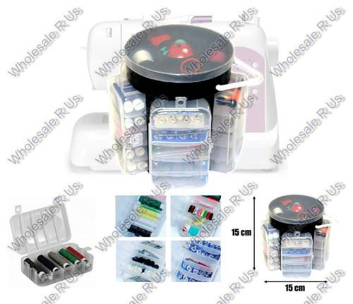 All in one sewing kit and sewing storage caddy 210 piece