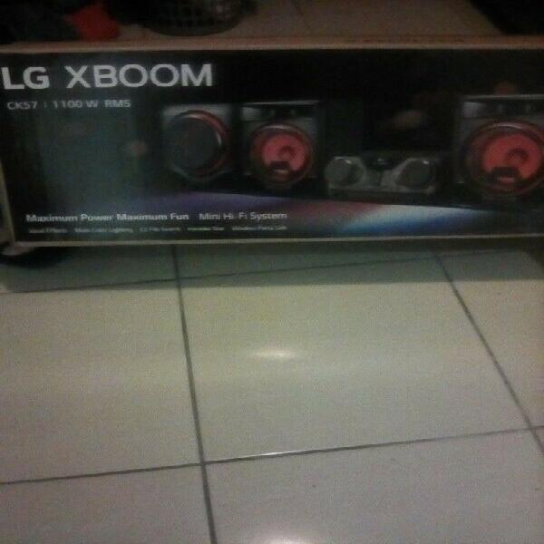 Hifi system.lg xboom ck57 for sale