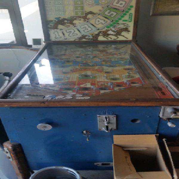Pinball machine old school unrestored