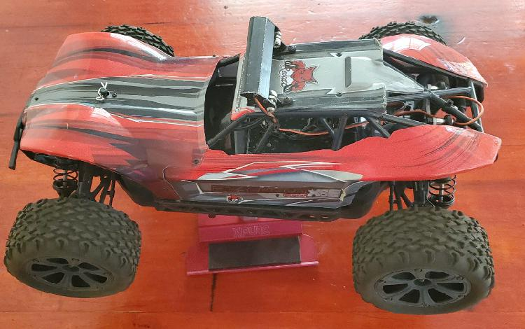 Red cat racing xbe pro rc electric 4wd car