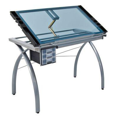Studio designs futura craft station (silver blue)