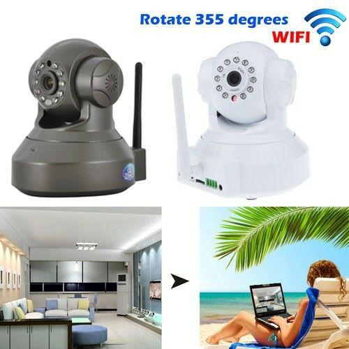 Wireless wifi hd mini megapixel p2p day night indoor