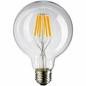 Filament vintage g95 g125 design light bulbs. collections