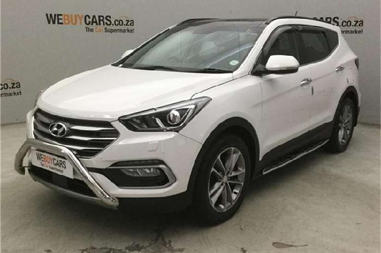 Hyundai santa fe 2.2crdi 4wd elite 2017